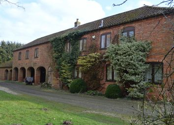 Thumbnail 4 bed country house for sale in Wirehill Lane, Wragby, Market Rasen