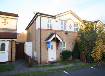 Thumbnail 2 bed end terrace house for sale in Wenlock Gardens, Walsall