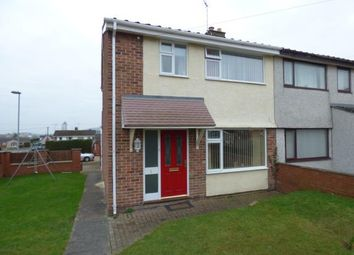 Thumbnail 3 bed semi-detached house for sale in Conway Avenue, Buckley, Flintshire