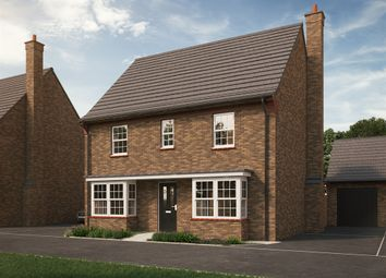 "Thumbnail 4 bed detached house for sale in ""The Kempston "" at Park Crescent, Stewartby, Bedford"