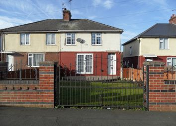 Thumbnail 3 bed semi-detached house for sale in Cemetery Road, Woodlands Doncaster