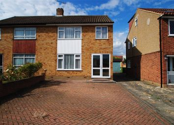 Thumbnail 3 bed semi-detached house for sale in Marlborough Close, Upminster