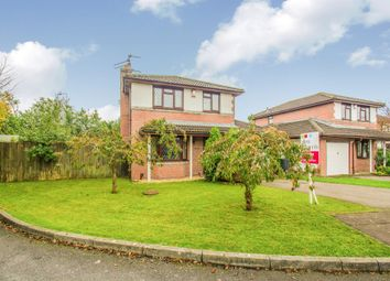 Thumbnail 4 bed detached house for sale in Cleddau Close, St. Mellons, Cardiff