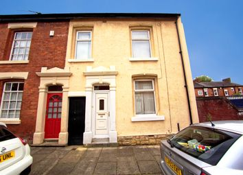 Thumbnail 3 bedroom end terrace house for sale in Elmsley Street, Preston