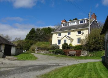 Thumbnail 4 bed detached house for sale in Cynghordy, Llandovery
