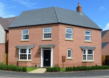 "Thumbnail 4 bedroom detached house for sale in ""Ashtree"" at Newton Lane, Wigston"