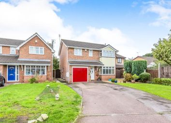 Thumbnail 4 bed detached house for sale in Ullswater Avenue, Crewe, Cheshire