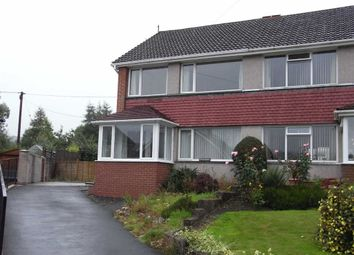Thumbnail 3 bed semi-detached house to rent in 19, Garden Suburb, Llanidloes, Powys