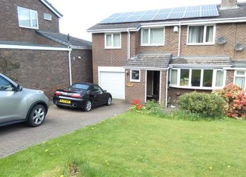Thumbnail 4 bed semi-detached house to rent in Western Avenue, Prudhoe