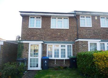Thumbnail 3 bedroom end terrace house for sale in Hurst Close, Chessington