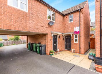 Thumbnail 3 bed town house for sale in Maynard Close, Loughborough