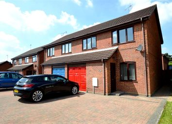 Thumbnail 3 bedroom semi-detached house for sale in Harvey Drive, North Walsham