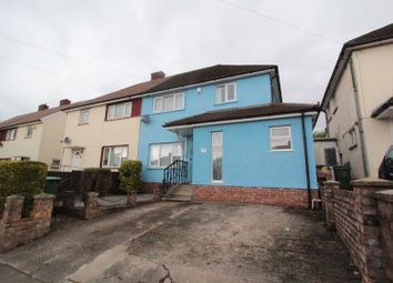 Thumbnail 3 bed semi-detached house for sale in Harris Avenue, Rumney