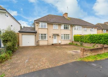 Thumbnail 5 bed semi-detached house for sale in Smallford Lane, Smallford, St. Albans, Hertfordshire