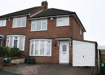 Thumbnail 3 bed semi-detached house for sale in Dorset Avenue, Glenfield, Leicester