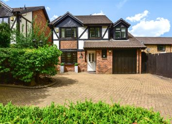 Thumbnail 4 bed detached house for sale in Old Monteagle Lane, Yateley, Hampshire