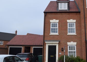 Thumbnail 3 bed end terrace house for sale in Charlotte Way, Peterborough