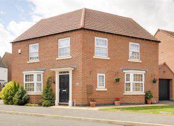 Thumbnail 4 bed detached house for sale in Senator Close, Hucknall, Nottinghamshire