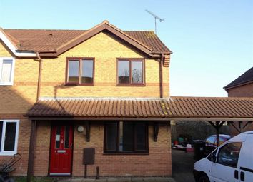Thumbnail 3 bed terraced house for sale in Cedar Close, Daventry, Northants