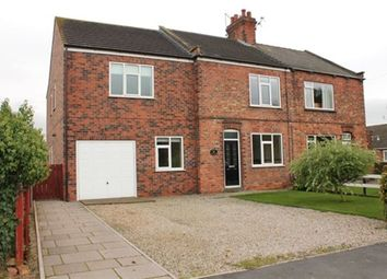 Thumbnail 4 bed semi-detached house to rent in South Duffield Road, Osgodby, Selby