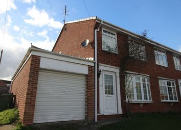 Thumbnail 3 bed semi-detached house for sale in Bramcote Drive, Retford