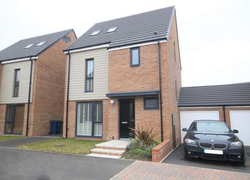 Thumbnail 4 bed detached house for sale in Chillingham Close, Washington