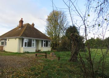 Thumbnail 2 bed detached bungalow to rent in Mildenhall Road, Barton Mills, Bury St. Edmunds