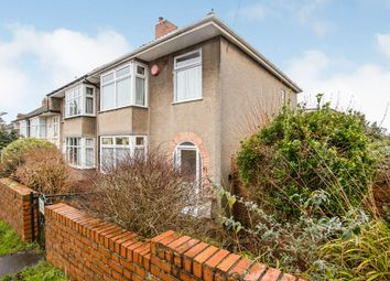Thumbnail 3 bed end terrace house for sale in Highbury Road, Horfield, Bristol