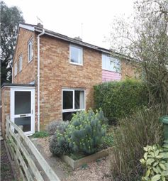 Thumbnail 2 bedroom end terrace house for sale in Quainton Close, Cambridge