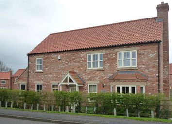 Thumbnail 4 bed detached house to rent in Caistor Road, Swallow, Market Rasen