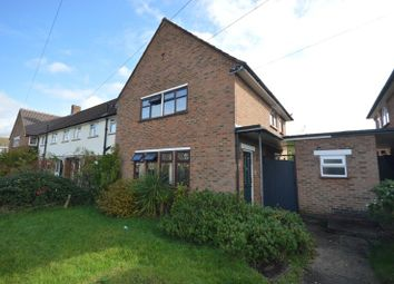 Thumbnail 3 bed end terrace house for sale in Holman Road, West Ewell, Surrey.