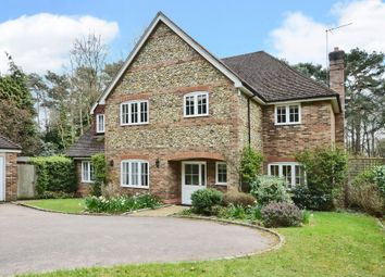 Thumbnail 5 bed detached house to rent in Tekels Park, Camberley