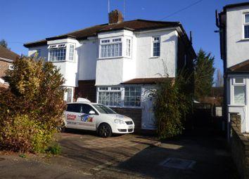 Thumbnail 3 bed semi-detached house for sale in Cardinal Avenue, Borehamwood