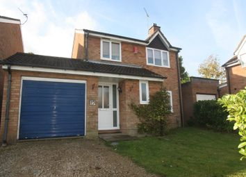 Thumbnail 3 bed detached house to rent in Clinton Close, Grange Park, Swindon