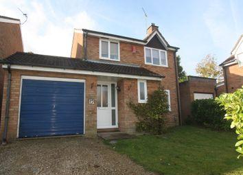 Thumbnail 3 bedroom detached house to rent in Clinton Close, Grange Park, Swindon