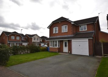 Thumbnail 4 bed detached house for sale in Dovecote Green, Kingswood, Warrington