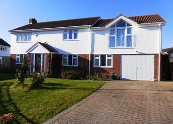 Thumbnail 5 bedroom detached house for sale in Whitcliffe Drive, Penarth