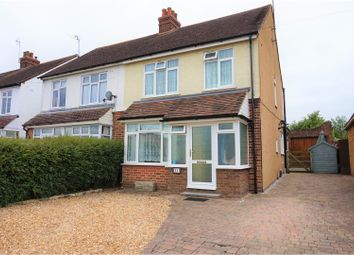 Thumbnail 3 bed semi-detached house for sale in Tattenhoe Lane, Bletchley