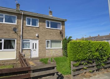 Thumbnail 3 bed end terrace house for sale in Lichfield Close, Ashington