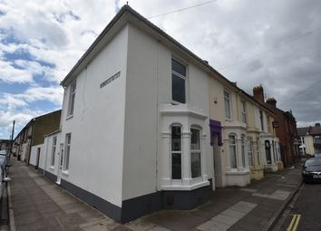Thumbnail 3 bed end terrace house to rent in Beecham Road, Portsmouth