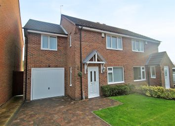 Thumbnail 3 bed semi-detached house for sale in Malin Close, Arnold, Nottingham