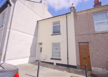 Thumbnail 2 bed terraced house to rent in Dundas Street, Stoke, Plymouth