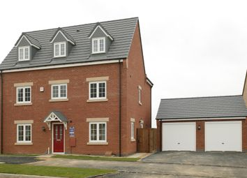Thumbnail 6 bed detached house for sale in Off Hallam Fields Road, Birstall