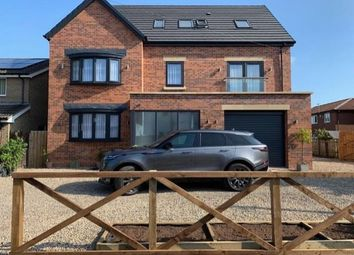 Thumbnail 5 bed detached house for sale in Elm Villas, Hazlerigg, Newcastle Upon Tyne