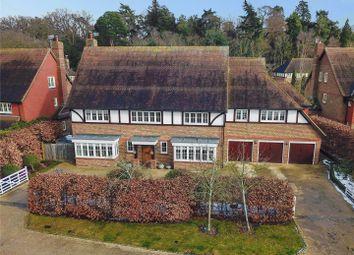 Thumbnail 6 bed detached house for sale in Lockestone, Weybridge, Surrey