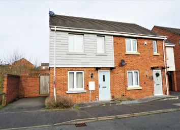 Thumbnail 2 bed semi-detached house for sale in Poundlock Avenue, Hanley, Stoke-On-Trent