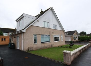 Thumbnail 2 bed semi-detached house for sale in Monroe Drive, Uddingston, Glasgow