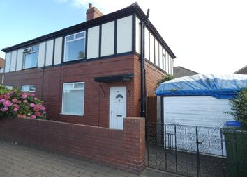 Thumbnail 2 bed semi-detached house to rent in Disraeli Street, Blyth