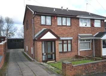 Thumbnail 3 bed semi-detached house for sale in Bridgnorth Grove, Mitchells Wood, Newcastle