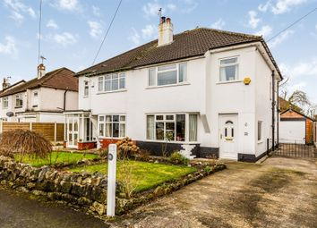 Thumbnail 3 bed semi-detached house for sale in Buckstone Oval, Alwoodley, Leeds